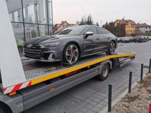 Autoholowanie samochodów z niskim zawieszeniem szczecin